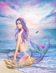 Blue Mermaid by AlenaLazareva