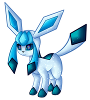 Glaceon by Jay-Shep