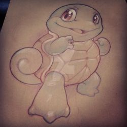 Squirtle by XeviousTheGreat