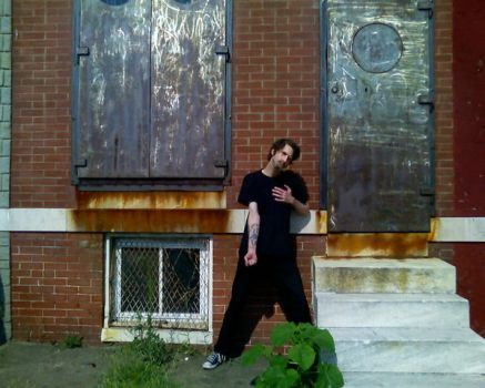 Me at Johnny ECK's House! by ADGoresFreakFactory