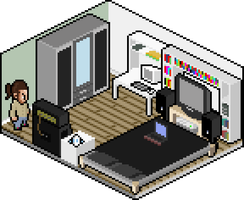 My new bedroom by bldred