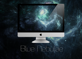 Blue Nebulae by SierraDesign