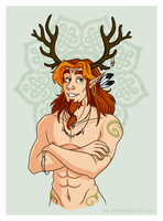 Trade - Cernunnos for Horned-Lyzz by Hellypse