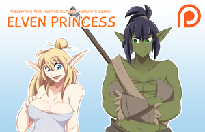 Elven Princess by Obhan