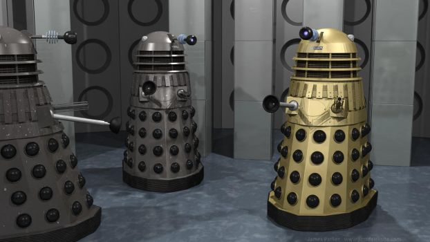 Meeting of the Daleks by Jim197