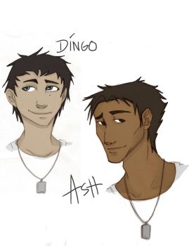 Ash and Dingo by 6thOfNovember