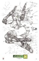 Marc Silvestri Aphrodite IX litho by TopCowOfficial