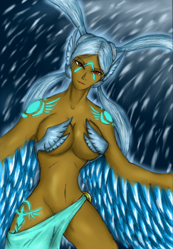 Human Anivia by Lel0uch