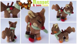 Plush Commission .:Russet the Sushidog:. by Lfraysse