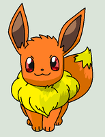 Flame The Eevee by nerotoxin06