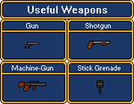 ASvtH World 1 Weapons by Belinda-Emily-Back
