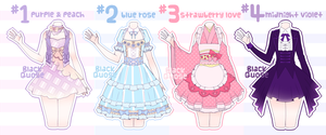 [CLOSED] Outfit Adoptable#1 by Black-Quose
