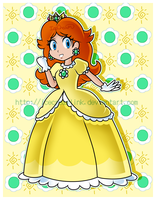 Princess Daisy by IceCreamLink