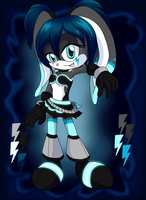 .:CE:. Electric Bunny by TheSparklyMisfit