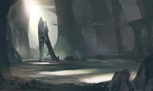 Cave Monument by Benlo