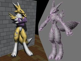 FunProjo: Renamon by LordOfDragons