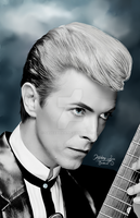 David Bowie by SauceBox16