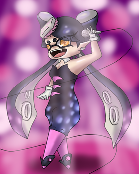 Callie Chibi - Me: Don't Look T^T by phoenixn91