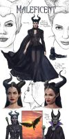 Maleficent-Concept Art-FanArt by VladislavPANtic