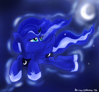 Luna's Lament by DSHooves