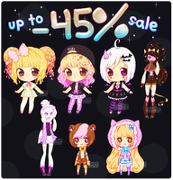 OPEN!! UP TO -45% ADOPTS SALE BATCH by OCshop