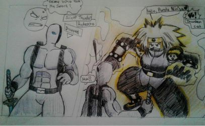Thunder Duel, Kitty vs Silent.  by TFSU-Samano