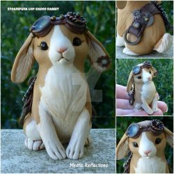 Steampunk Lopeared Rabbit by MysticReflections