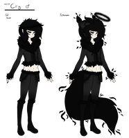 :Factory Dog: Cry [Human Illusion Form] by funCatty