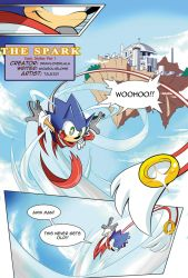 [FANMADE] Sonic Skyline Page 01 by Tale-Dude