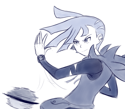 Another Gladion Sketch by IcelectricSpyro