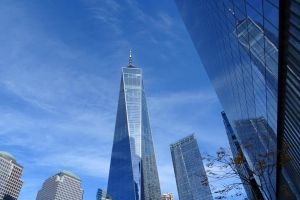 reflections of NY by Mittelfranke