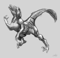 Deinonychus TF by Nolhyaa