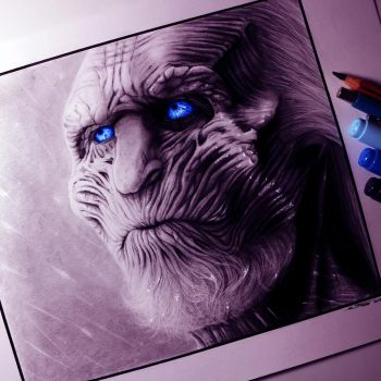White Walker Drawing by LethalChris