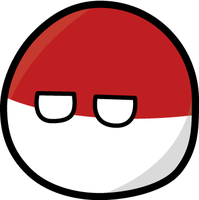 Polandball - first attempt by Sevgart