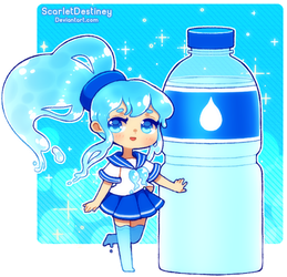 Water Bottle (Remake) by ScarletDestiney