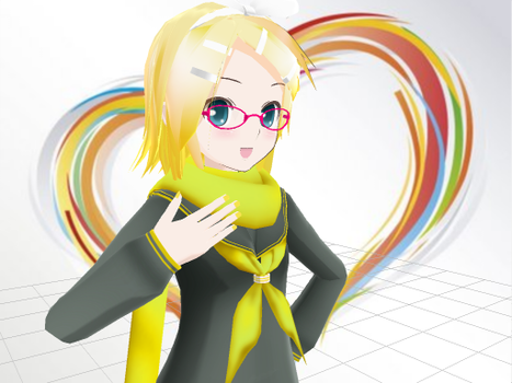 Sailor Rin - mmd by PandyCreations