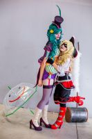 Love you, Puddin - Harley x Joker cosplay by Voldiesama