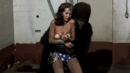 ApeGod Fucks dead wonder Woman..he cant leave her by GodessesOfEarth