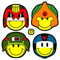 New 2000AD Smilies by handtoeye