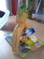 first fimo figurine: fairy 02 by Chacartz