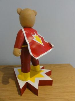 SuperTed Statue 1 by Mutronics
