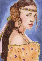 Padme Star Wars by Purple-Pencil