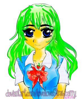 Midori-san.My First Attempt by loveLovestrawberry