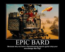 Mad Max Epic Bard by 4thehorde