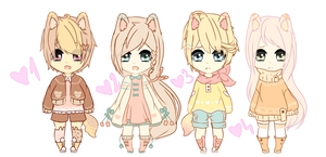 [CLOSED] Adoptable Auction #4 by Kanzy-Chan