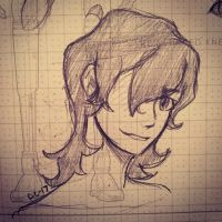 Keith Sketch 2  by Ailizerbee08