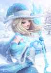 Winter Witch by DigiFlohw