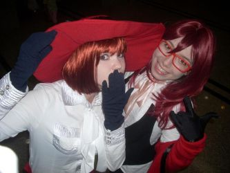 Grell and Madam Red by TerrantMadHatter