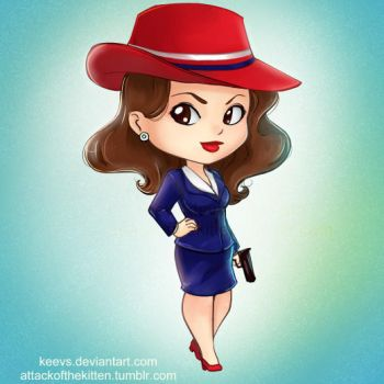 Agent Carter by keevs
