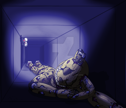 FNaF: Vent Nap by YellowRoseofTexas